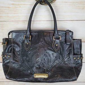 Beautiful American West Leather Bag